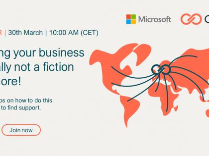 Skaluj swój biznes globalnie – webinar: 30 marca, godz. 10.00